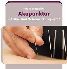Flyer Akupunktur