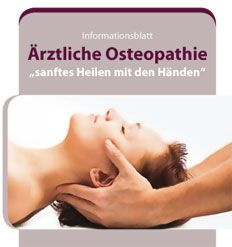 Flyer Ärztliche Osteopathie